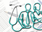 stethoscope with outline of people