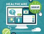 desktop showing healthcare open enrollment site
