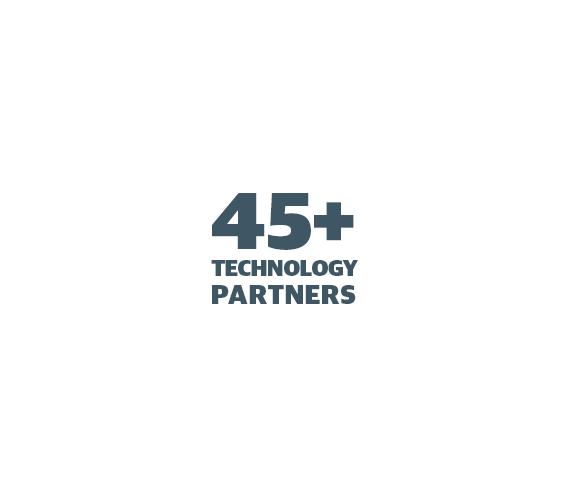 We have 45+ Technology Partners - figure 3