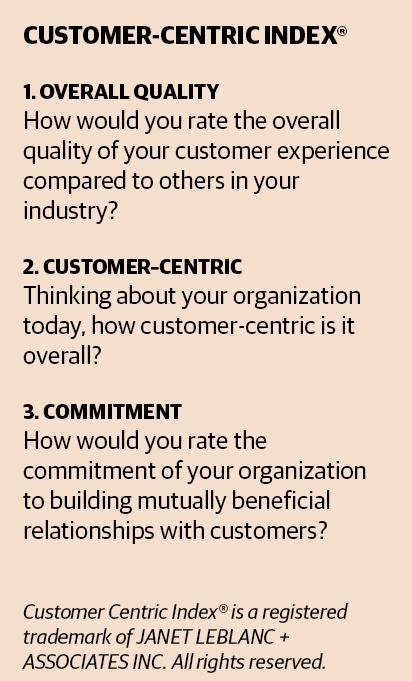 customer centric index