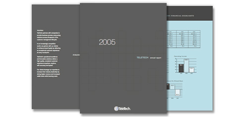 TeleTech 2005 Annual Report