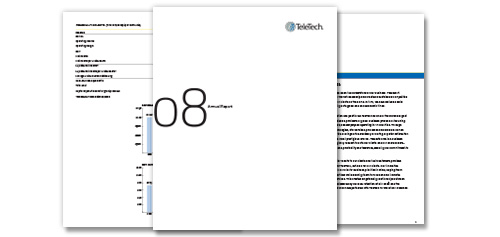 TeleTech 2008 Annual Report