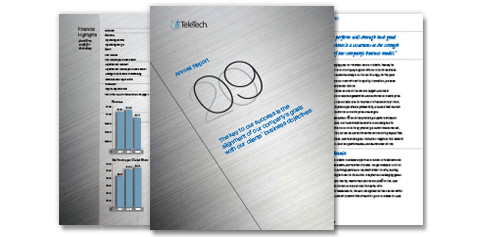 TeleTech 2009 Annual Report