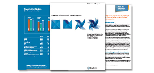 TeleTech 2011 Annual Report