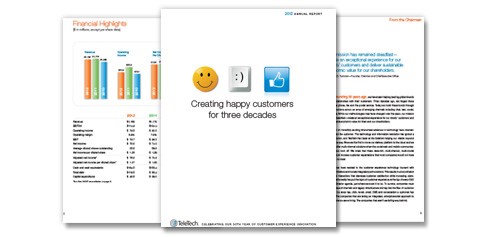 TeleTech 2012 Annual Report
