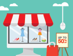 digital customer experience at a retail store