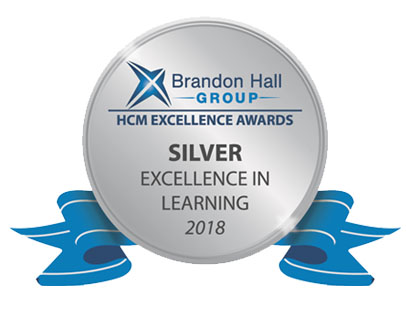 Brandon Hall Group Silver Award for Best Unique or Innovative Learning Program