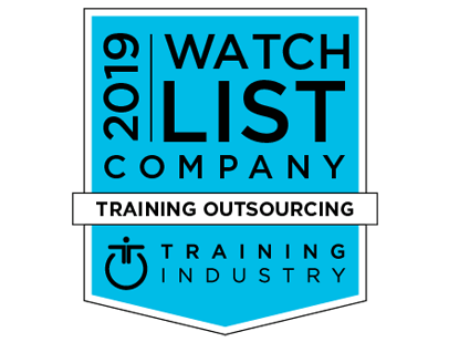 Training Industry Inc. 2019 Training Outsourcing Companies Watch List