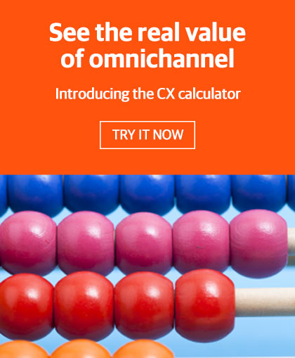 omnichannel cx calculator for ROI