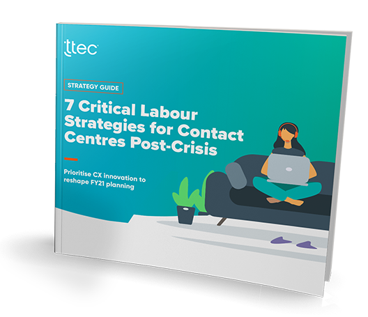 7 Critical Labour Strategies for Contact Centres Post-Crisis cover image
