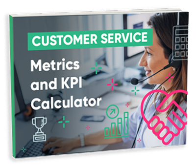 Average handle time, Customer Satisfaction Score, and First Contact Resolution Calculator