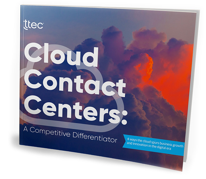 cloud contact center trends strategy guide cover image