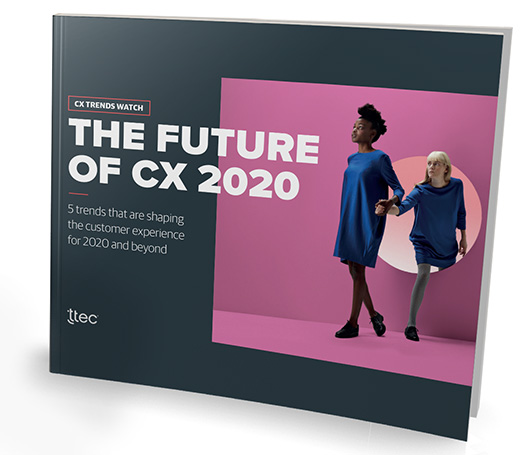 digital customer experience trends 2020 strategy guide cover image