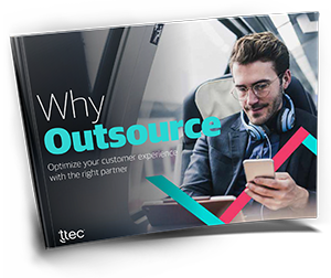 the benefits of contact center outsourcing eBook cover