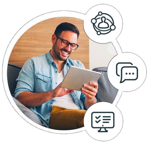 digital customer journey mapping dynamic view
