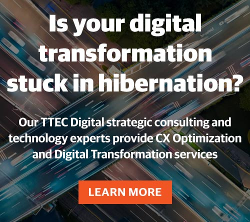 Customer experience strategy solutions provided by TTEC Digital