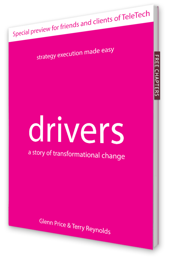 The hardest part of transforming into a customercentric business is CX strategy execution. Drivers shows you how.