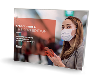 APAC CX Trends: The 2021 Edition small thumbnail cover image
