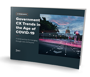 Government CX Trends in the Age of COVID-19 small thumbnail cover image