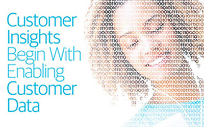 Customer data allows the full customer journey to be known and optimized