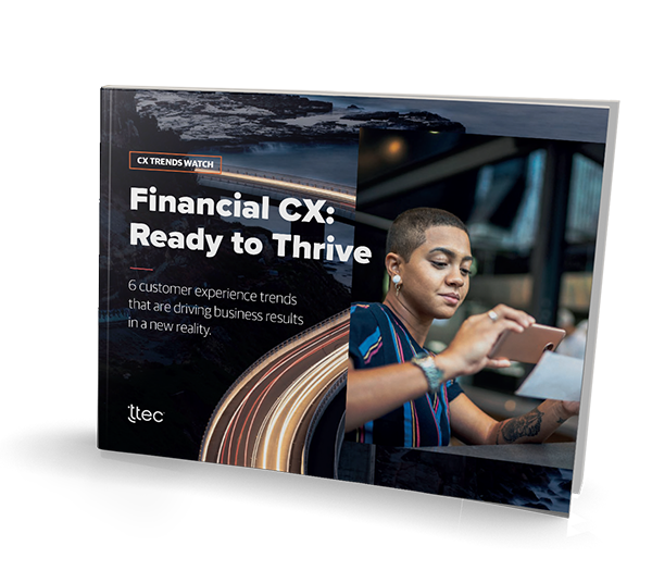 Financial CX: Ready to thrive cover image