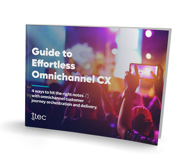 Guide to effortless omnichannel CX cover image