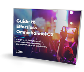 Guide to effortless omnichannel CX small thumbnail cover image