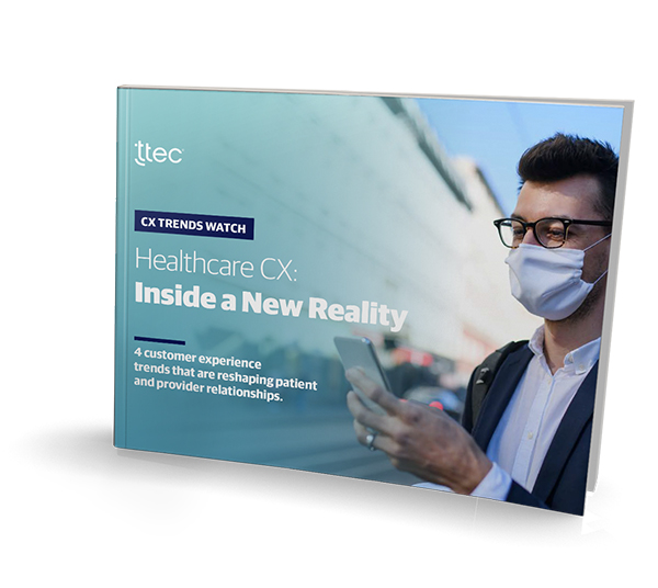 Healthcare CX: Inside a New Reality cover image