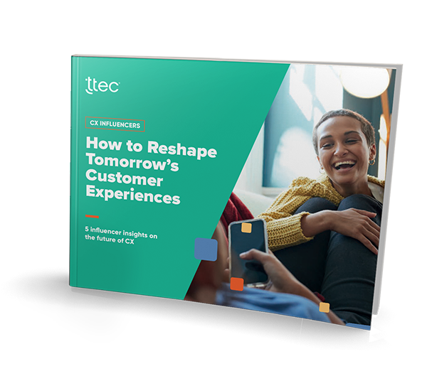 How to Reshape Tomorrow's Customer Experiences  cover image