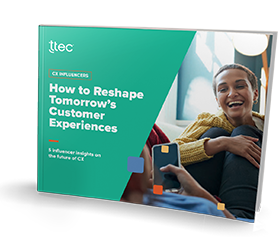 How to Reshape Tomorrow's Customer Experiences cover