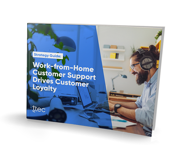 Work-From-Home Customer Support Drives Customer Loyalty cover image