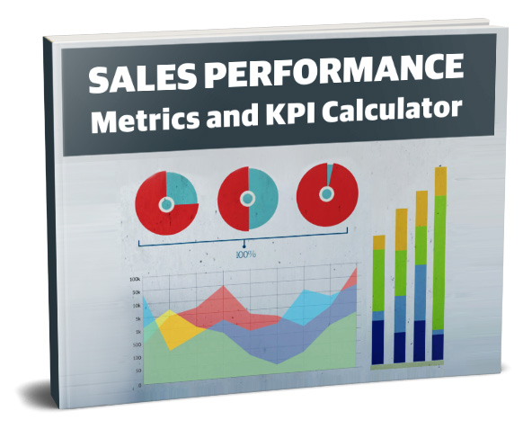 sales metrics and KPI calculator cover image