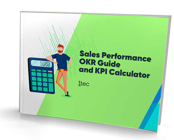 Sales Performance OKR Guide and KPI Calculator cover