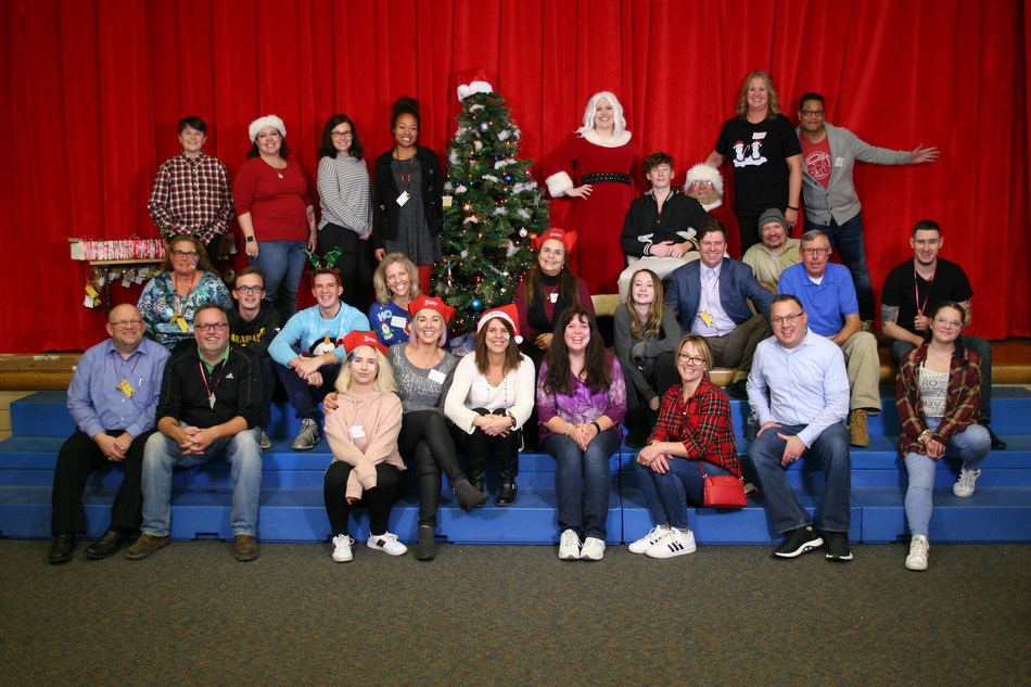 TTEC volunteers celebrate the holiday season during the company's annual community outreach event, which benefitted more than 300 University Prep students and their families. The Denver-based customer experience technology and services company has hosted the event for the past 14 years, as part of its company-wide initiative to give back to education organizations in the community by providing access to the tools and support students need to succeed.