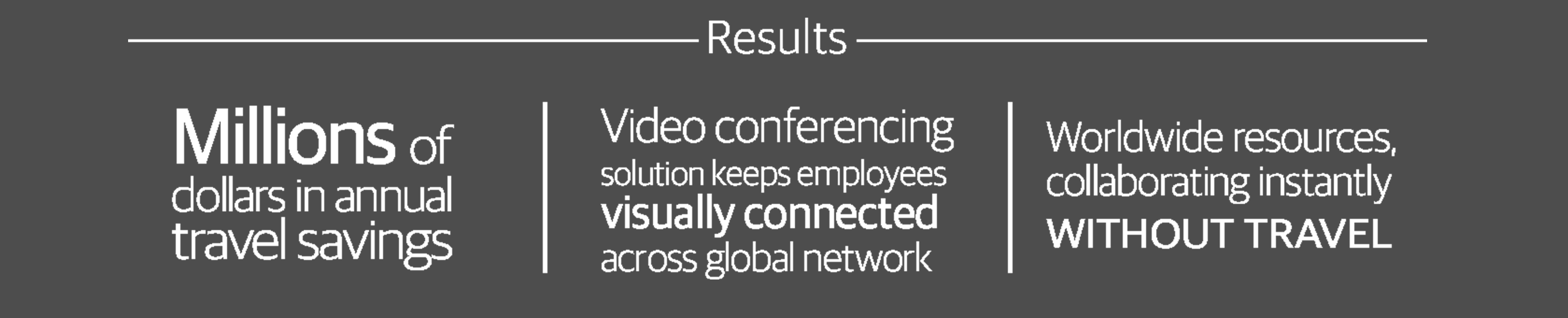 We helped our client implement a new video conferencing system