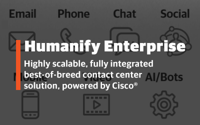 Humanify Enterprise: Omnichannel contact center solution
