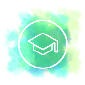 icon of a graduation hat