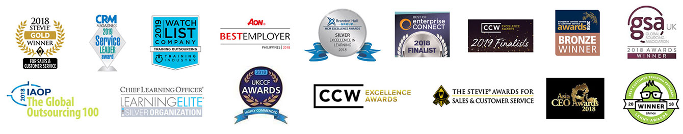 list of contact center and CX awards